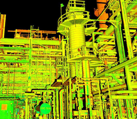 FEE2 - Laser Scan of Existing Site Conditions