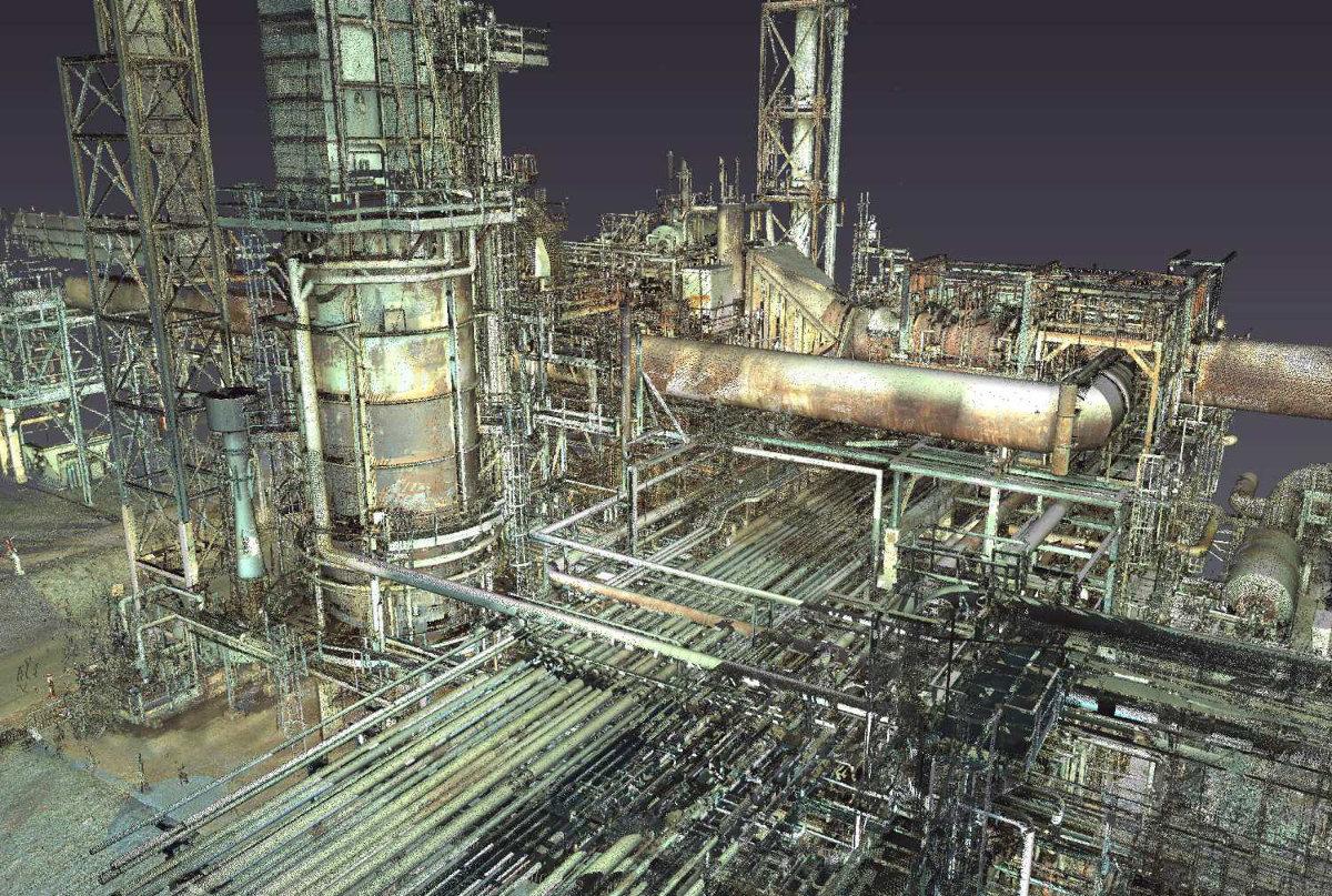 Oil Gas Amp Industrial 3d Laser Scanning