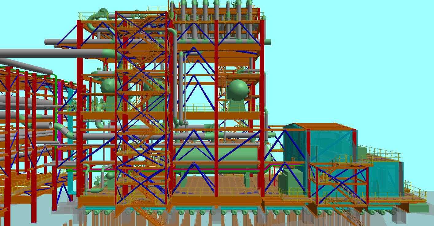 Oil, Gas & Industrial 3D Laser Scanning